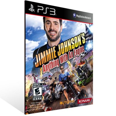 PS3 - Jimmie Johnson's Anything With An Engine - Digital Código 12 Dígitos Americano