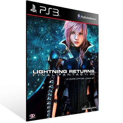 PS3 - LIGHTNING RETURNS:FINAL FANTASY XIII - Digital Código 12 Dígitos Americano