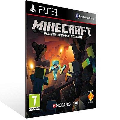 Ps3 - Minecraft - Digital Código 12 Dígitos US