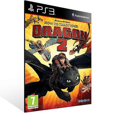 Ps3 - How To Train Your Dragon 2 - Digital Código 12 Dígitos US