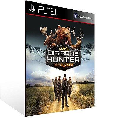 Ps3 - Cabelas Big Game Hunter Pro Hunts - Digital Código 12 Dígitos US