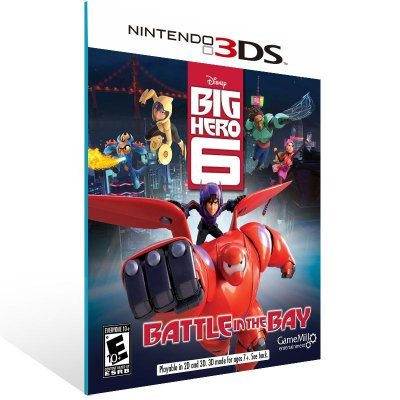 3DS - Big Hero 6 Battle in the Bay - Digital Código 16 Dígitos US