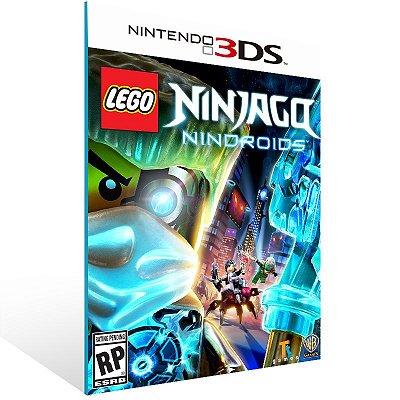 3DS - LEGO Ninjago: Nindroids - Digital Código 16 Dígitos US