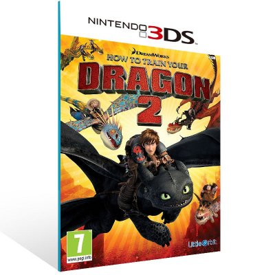 3DS - How to Train Your Dragon 2 - Digital Código 16 Dígitos US