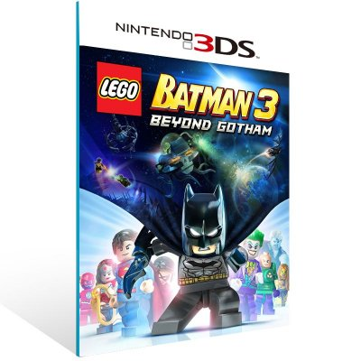 3DS - LEGO Batman 3: Beyond Gotham - Digital Código 16 Dígitos US