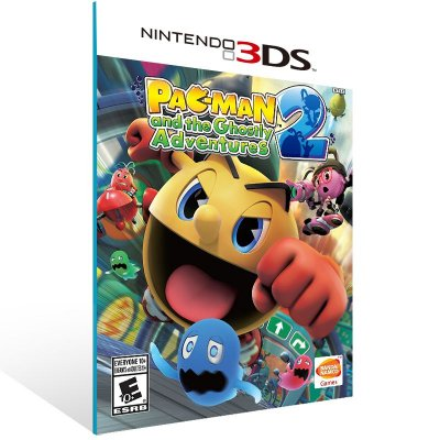 3DS - Pac-Man and the Ghostly Adventures 2 - Digital Código 16 Dígitos US