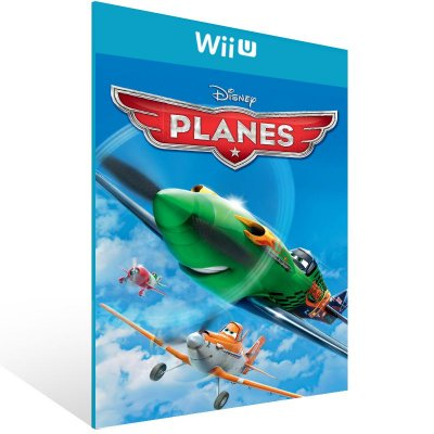 Wii U - Disney Planes - Digital Código 16 Dígitos US