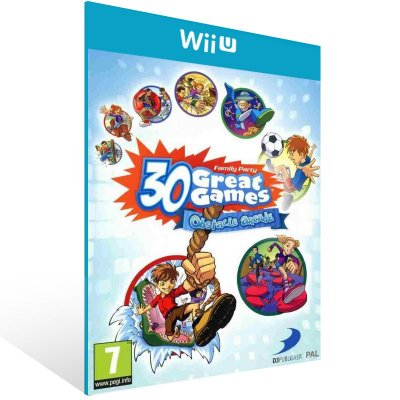 Wii U - Family Party: 30 Great Games Obstacle Arcade - Digital Código 16 Dígitos Americano
