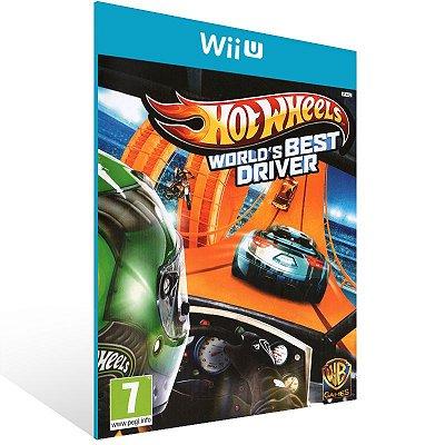 Wii U - Hot Wheels World's Best Driver - Digital Código 16 Dígitos US