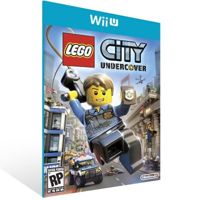 Wii U - LEGO City Undercover - Digital Código 16 Dígitos US
