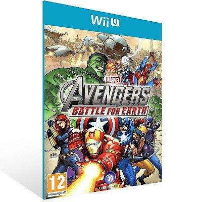 Wii U - Marvel Avengers: Battle for Earth - Digital Código 16 Dígitos US