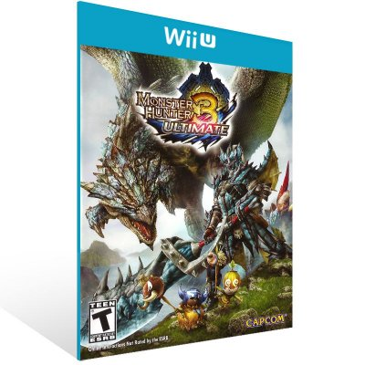 Wii U - Monster Hunter 3 Ultimate - Digital Código 16 Dígitos US