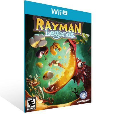 Wii U - Rayman Legends - Digital Código 16 Dígitos Americano