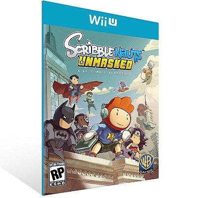 Wii U - Scribblenauts Unmasked: A DC Comics Adventure - Digital Código 16 Dígitos Americano
