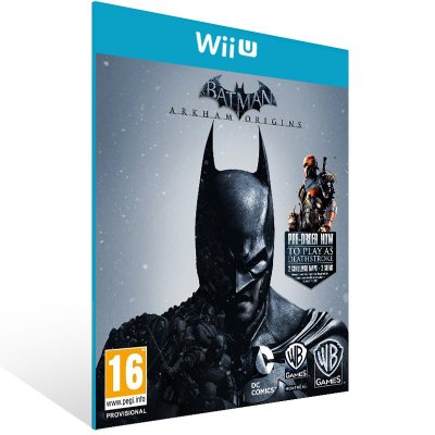 Wii U - Batman: Arkham Origins - Digital Código 16 Dígitos US