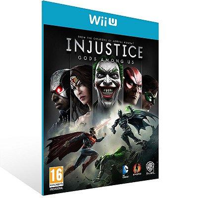 Wii U - Injustice: Gods Among Us - Digital Código 16 Dígitos US