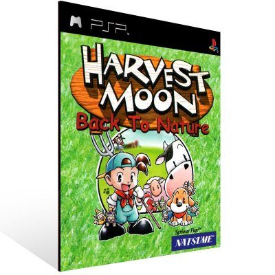 PSP - Harvest Moon: Back To Nature (PSOne Classic) - Digital Código 12 Dígitos US