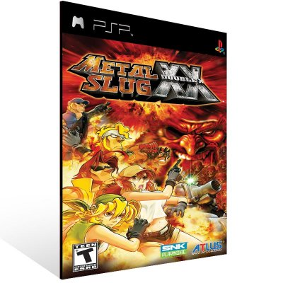 Psp - METAL SLUG XX - Digital Código 12 Dígitos US