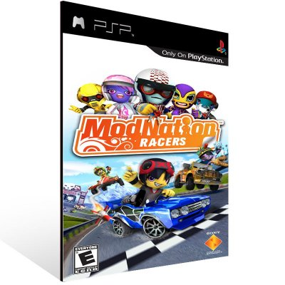 PSP - ModNation Racers - Digital Código 12 Dígitos US