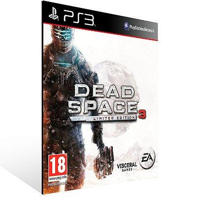 PS3 - Dead Space 3 Ultimate Edition - Digital Código 12 Dígitos Americano