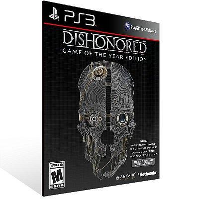 PS3 - Dishonored Game of the Year Edition - Digital Código 12 Dígitos Americano