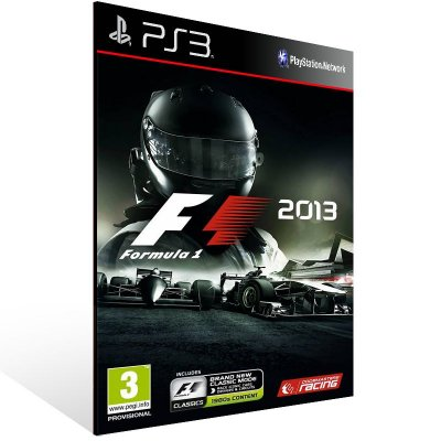 PS3 - F1 2013 - Digital Código 12 Dígitos Americano