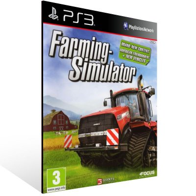 Ps3 - Farming Simulator - Digital Código 12 Dígitos US