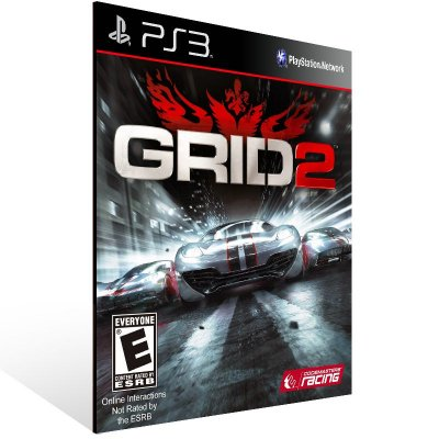 PS3 - GRID 2 Reloaded - Digital Código 12 Dígitos Americano