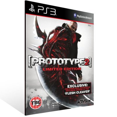 Ps3 - Prototype 2 Gold Edition - Digital Código 12 Dígitos US