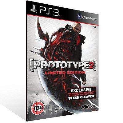 PS3 - Prototype 2 Gold Edition - Digital Código 12 Dígitos Americano