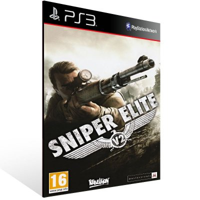 Ps3 - Sniper Elite V2 - Digital Código 12 Dígitos US