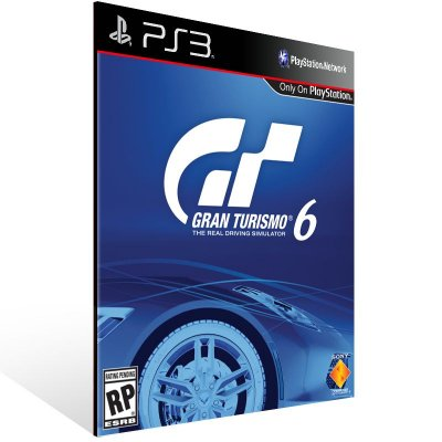 Ps3 - Gran Turismo 6 - Digital Código 12 Dígitos US