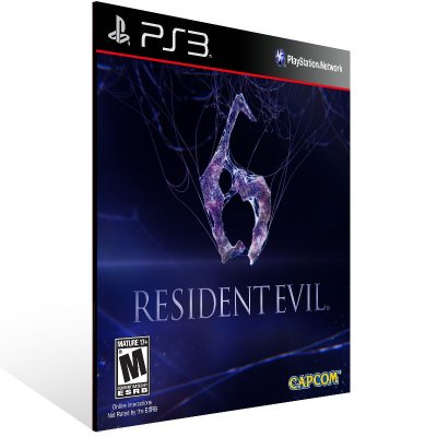 PS3 - Resident Evil 6 Ultimate Edition - Digital Código 12 Dígitos Americano