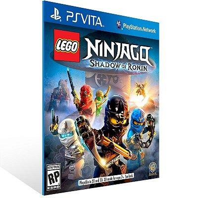 Ps Vita - LEGO Ninjago: Shadow of Ronin - Digital Código 12 Dígitos US