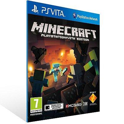 Ps Vita - Minecraft PlayStation Vita Edition - Digital Código 12 Dígitos US