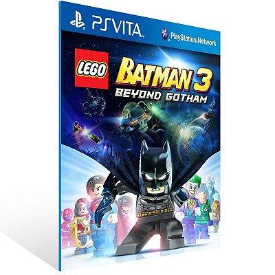 Ps Vita - LEGO Batman 3: Beyond Gotham - Digital Código 12 Dígitos US