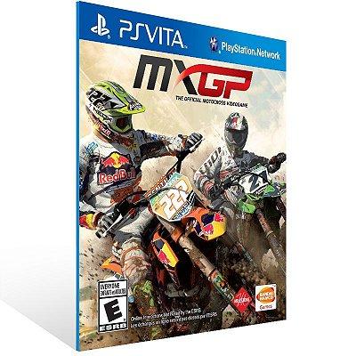 Ps Vita - MXGP The Official Motocross Videogame - Digital Código 12 Dígitos US
