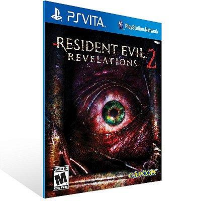 Ps Vita - Resident Evil Revelations 2 - Digital Código 12 Dígitos US