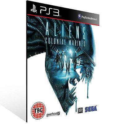PS3 - Aliens: Colonial Marines - Digital Código 12 Dígitos Americano