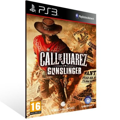 Ps3 - Call of Juarez Gunslinger - Digital Código 12 Dígitos US