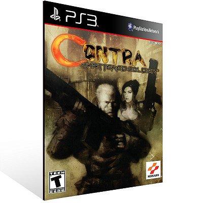 PS3 - Contra: Shattered Soldier (PS2 Classic) - Digital Código 12 Dígitos Americano