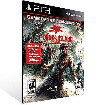 PS3 - Dead Island : Game of the Year Edition - Digital Código 12 Dígitos Americano