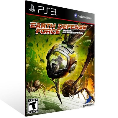Ps3 - Earth Defense Force Insect Armageddon - Digital Código 12 Dígitos US