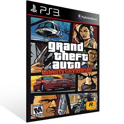 Ps3 - Grand Theft Auto Liberty City Stories (PS2 Classic) - Digital Código 12 Dígitos US