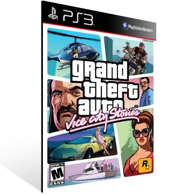 PS3 - Grand Theft Auto: Vice City Stories - Digital Código 12 Dígitos Americano