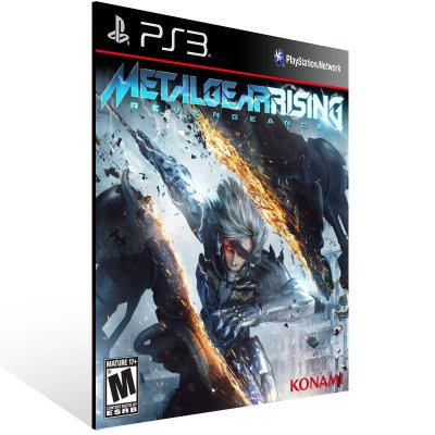 PS3 - METAL GEAR RISING: REVENGEANCE - Digital Código 12 Dígitos Americano