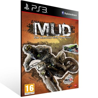 PS3 - MUD - FIM Motocross World Championship - Digital Código 12 Dígitos Americano