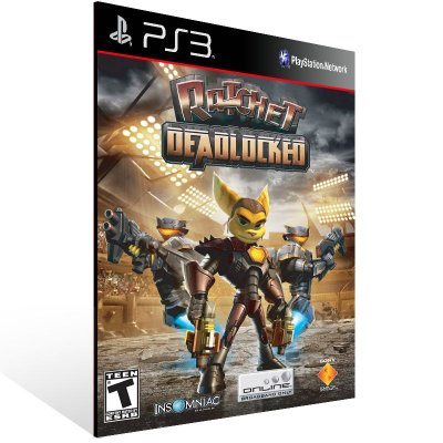 PS3 - Ratchet: Deadlocked - Digital Código 12 Dígitos Americano