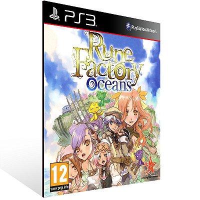 PS3 - Rune Factory: Tides of Destiny - Digital Código 12 Dígitos Americano