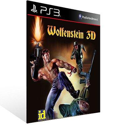 Ps3 - Wolfenstein 3D - Digital Código 12 Dígitos US